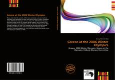 Bookcover of Greece at the 2006 Winter Olympics