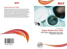 Bookcover of Sugar Duties Act 1846