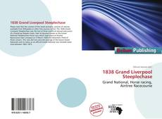 Обложка 1838 Grand Liverpool Steeplechase