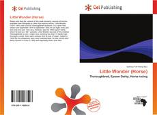 Bookcover of Little Wonder (Horse)