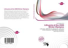 Buchcover von Lithuania at the 2006 Winter Olympics