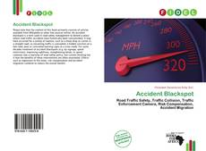 Capa do livro de Accident Blackspot