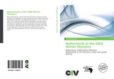 Bookcover of Netherlands at the 2006 Winter Olympics