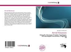 Bookcover of Arvid Knutsen