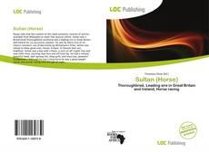 Bookcover of Sultan (Horse)