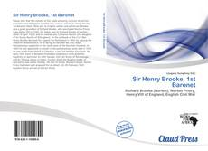 Sir Henry Brooke, 1st Baronet kitap kapağı
