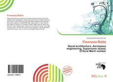 Bookcover of Fineness Ratio