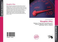 Bookcover of Slaughter Alley