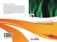 Sydney Cricket Club kitap kapağı