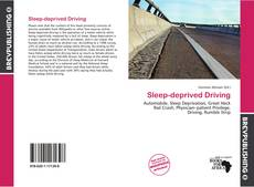 Bookcover of Sleep-deprived Driving