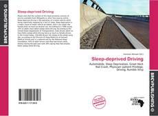 Buchcover von Sleep-deprived Driving