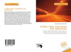 Bookcover of Traffic-light signalling and operation