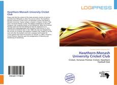 Buchcover von Hawthorn-Monash University Cricket Club