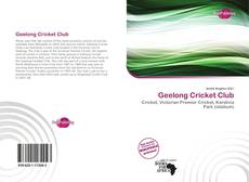 Bookcover of Geelong Cricket Club