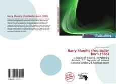 Capa do livro de Barry Murphy (Footballer born 1985)