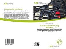 Couverture de International Driving Permit