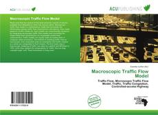 Bookcover of Macroscopic Traffic Flow Model