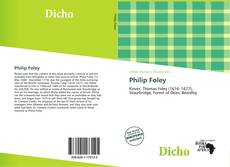 Bookcover of Philip Foley