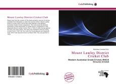 Mount Lawley District Cricket Club的封面