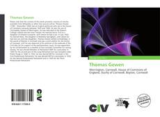 Bookcover of Thomas Gewen