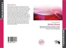 Portada del libro de Henry Grove