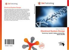 Couverture de Electrical System Design