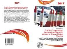 Buchcover von Traffic Congestion: Reconstruction with Kerner's Three-Phase Theory