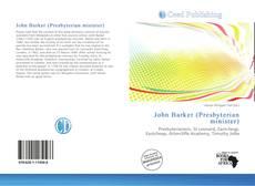 Portada del libro de John Barker (Presbyterian minister)
