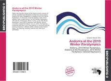 Andorra at the 2010 Winter Paralympics kitap kapağı