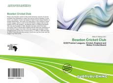 Copertina di Bowdon Cricket Club