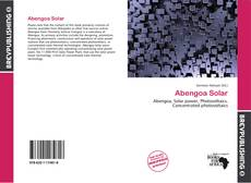 Bookcover of Abengoa Solar