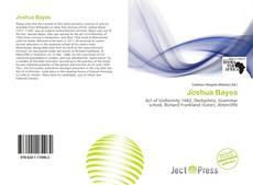Capa do livro de Joshua Bayes