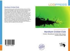 Capa do livro de Horsham Cricket Club