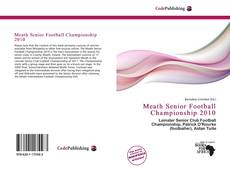 Portada del libro de Meath Senior Football Championship 2010