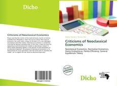 Portada del libro de Criticisms of Neoclassical Economics