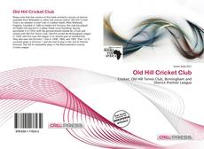 Bookcover of Old Hill Cricket Club
