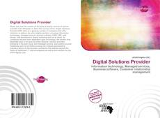 Bookcover of Digital Solutions Provider