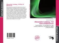 Bookcover of Alexander Lindsay, 1st Earl of Balcarres