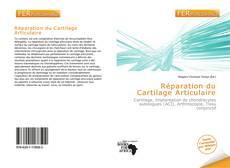 Buchcover von Réparation du Cartilage Articulaire