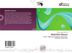 Bookcover of Abdullah Mazari
