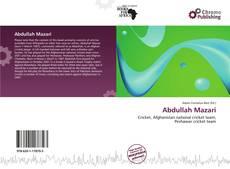 Buchcover von Abdullah Mazari