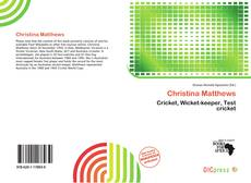 Bookcover of Christina Matthews