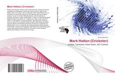 Buchcover von Mark Hatton (Cricketer)