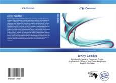 Обложка Jenny Geddes