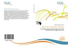 Bookcover of 2010 Tri Nations Series