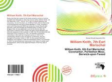 Buchcover von William Keith, 7th Earl Marischal