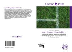 Bookcover of Alex Singer (Footballer)