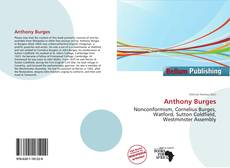 Bookcover of Anthony Burges