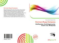Bookcover of Gorman-Rupp Company