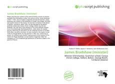 Portada del libro de James Bradshaw (minister)